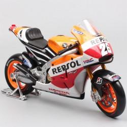 Modellino Moto di Daniel Pedrosa- Honda Repsol RC213V 2014