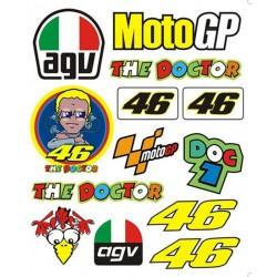 Adesivi MotoGp Valentino Rossi ++ EXTRA 02