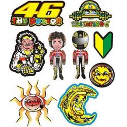 Adesivi MotoGp Valentino Rossi ++ EXTRA 08