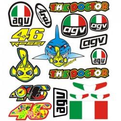 Adesivi MotoGp Valentino Rossi ++ EXTRA 09