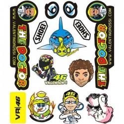 Adesivi MotoGp Valentino Rossi ++ EXTRA 011