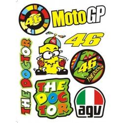 Adesivi MotoGp Valentino Rossi ++ EXTRA 012