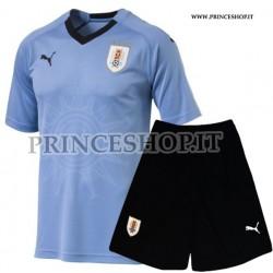 Kit Home Uruguay maglia+pantaloncini RUSSIA 2018