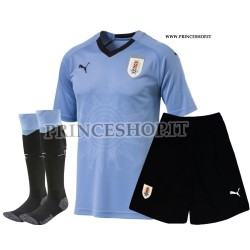 Completo Home Uruguay maglia+pantaloncini+calzettoni RUSSIA 2018