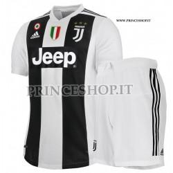 Kit Home Juventus maglia+pantaloncini 2018/19