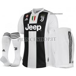 Completo Home Juventus maglia+pantaloncini+calzettoni 2018/19
