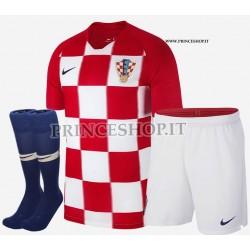 Completo Home Croazia maglia+pantaloncini+calzettoni  RUSSIA 2018