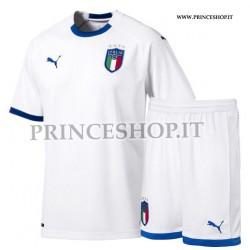 Kit Away Italia maglia+pantaloncini 2018