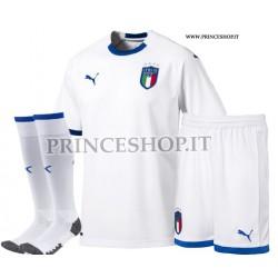 Completo Away Italia maglia+pantaloncini+calzettoni 2018