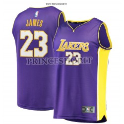 Maglia NBA LA Lakers di LeBron James [ Statement Edition]