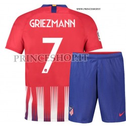 Kit Home Atletico Madrid di Antoine Griezmann 2018/19