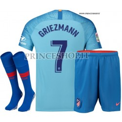 Completo Away Atletico Madrid di Antoine Griezmann 2018/19