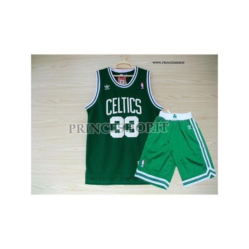 newest 72a02 9a06c Kit NBA Boston Celtics di Larry Bird
