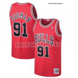 Maglia NBA Chicago Bulls di Rodman