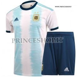 Kit Home Argentina COPA AMERICA 2019 maglia+pantaloncini