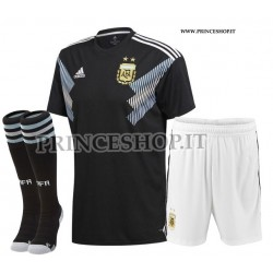 Completo Away Argentina COPA AMERICA 2019 maglia+pantaloncini+calzettoni