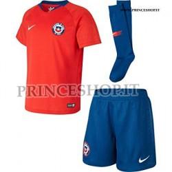 Completo Cile Home COPA AMERICA 2019 maglia+pantaloncini+calzettoni
