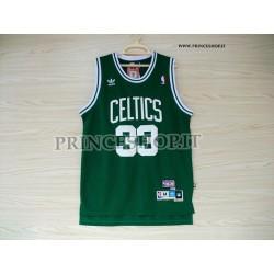 Maglia NBA Boston Celtics di Larry Bird [Adidas]