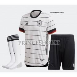 Completo Home Germania EURO 2020-21 maglia+pantaloncini+calzettoni