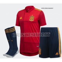 Completo Home Spagna EURO 2020-21 maglia+pantaloncini+calzettoni