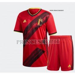 Kit Home Belgio EURO 2020-21 maglia+pantaloncini