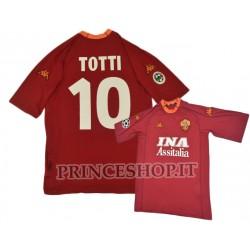 Maglia RETRO' TOTTI - Home Roma 2000/01