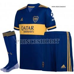 Completo Home Boca Juniors 2020/21 maglia+pantaloncini+calzettoni