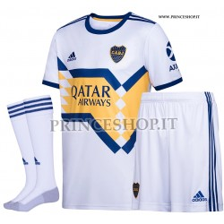 Completo Away Boca Juniors 2020/21 maglia+pantaloncini+calzettoni