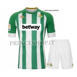Kit Home Real Betis 2020/21 maglia+pantaloncini