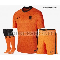 Completo Home Olanda EURO 2020-21 maglia+pantaloncini+calzettoni
