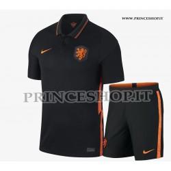 Kit Away Olanda EURO 2020-21 maglia+pantaloncini