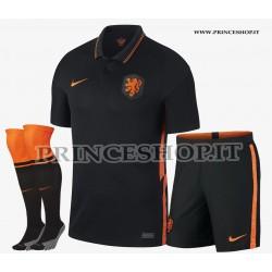Completo Away Olanda EURO 2020-21 maglia+pantaloncini+calzettoni