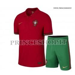 Kit Home Portogallo EURO 2020-21 maglia+pantaloncini