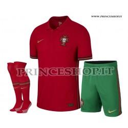 Completo Home Portogallo EURO 2020-21 maglia+pantaloncini+calzettoni