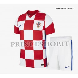 Kit Home Croazia EURO 2020-21 maglia+pantaloncini