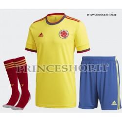 Completo Home Colombia COPA AMERICA 2021 maglia+pantaloncini+calzettoni