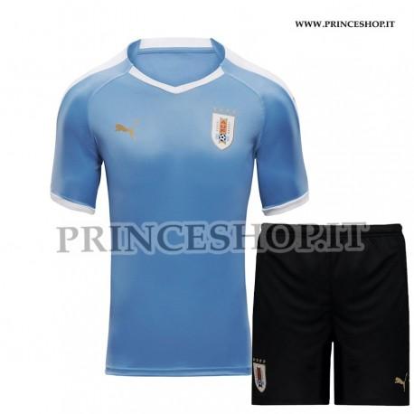 Kit Home Uruguay COPA AMERICA 2021 maglia+pantaloncini