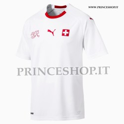 Maglia Home Svizzera EURO 2020-21