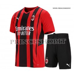 Kit Home Milan 2021/22 maglia+pantaloncini