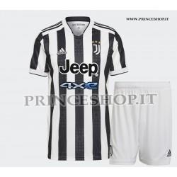 Kit Home Juventus maglia+pantaloncini 2021/22