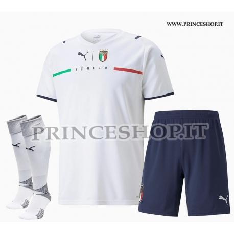 Completo Away Italia EURO 2020-21 maglia pantaloncini calzettoni