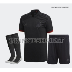 Completo Away Germania EURO 2020-21 maglia+pantaloncini+calzettoni
