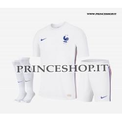 Completo Home Francia EURO 2020-21 maglia+pantaloncini+calzettoni