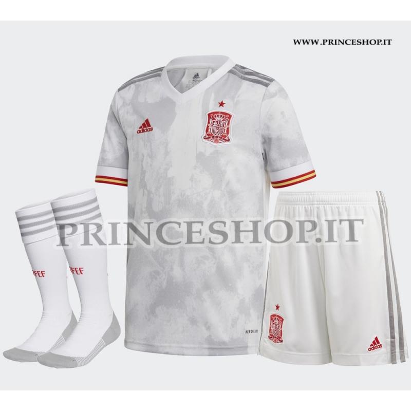 Completo Away Spagna EURO 2020-21 maglia pantaloncini calzettoni