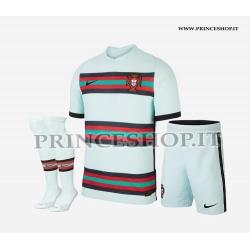 Completo Away Portogallo EURO 2020-21 maglia+pantaloncini+calzettoni