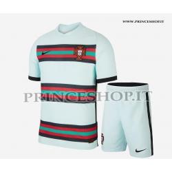 Kit Away Portogallo EURO 2020-21 maglia+pantaloncini