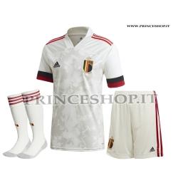 Completo Away Belgio EURO 2020-21 maglia+pantaloncini
