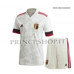 Kit Away Belgio EURO 2020-21 maglia+pantaloncini