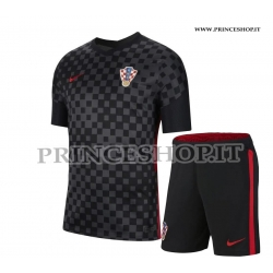 Kit Away Croazia EURO 2020-21 maglia+pantaloncini