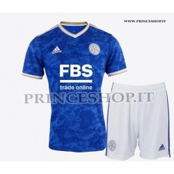 Kit Home Leicester 2021/22 maglia+pantaloncini
